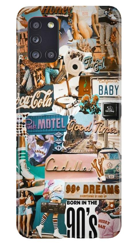 Vintage Design Case for Samsung Galaxy A31 (Design No. 284)