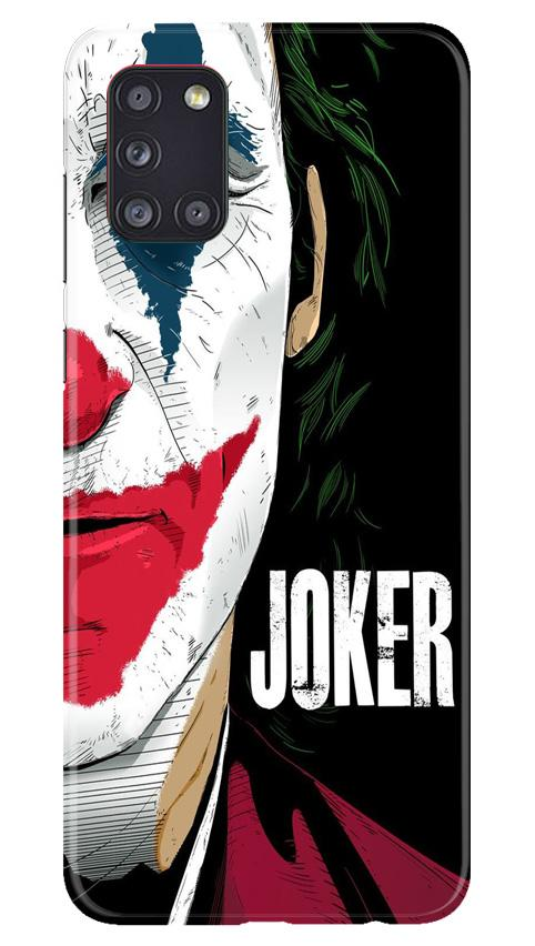 Joker Mobile Back Case for Samsung Galaxy A31 (Design - 301)