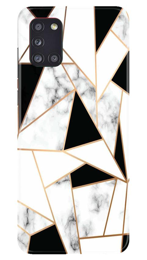 Marble Texture Mobile Back Case for Samsung Galaxy A31 (Design - 322)