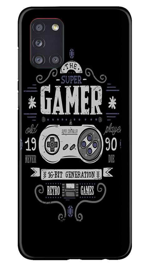 Gamer Mobile Back Case for Samsung Galaxy A31 (Design - 330)