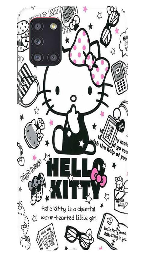 Hello Kitty Mobile Back Case for Samsung Galaxy A31 (Design - 361)