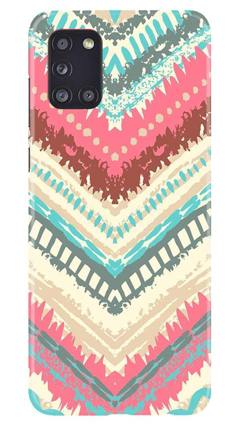 Pattern Mobile Back Case for Samsung Galaxy A31 (Design - 368)