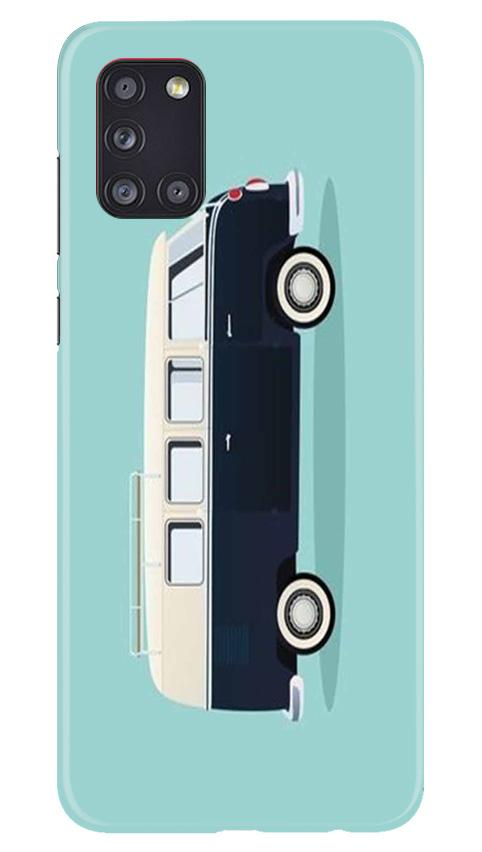 Travel Bus Mobile Back Case for Samsung Galaxy A31 (Design - 379)