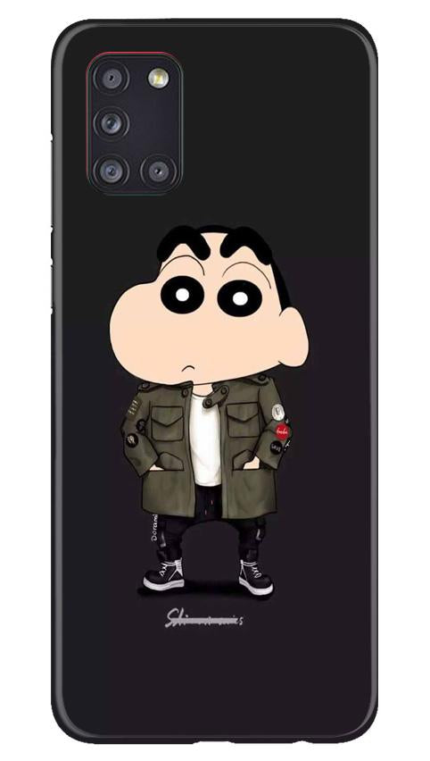 Shin Chan Mobile Back Case for Samsung Galaxy A31 (Design - 391)