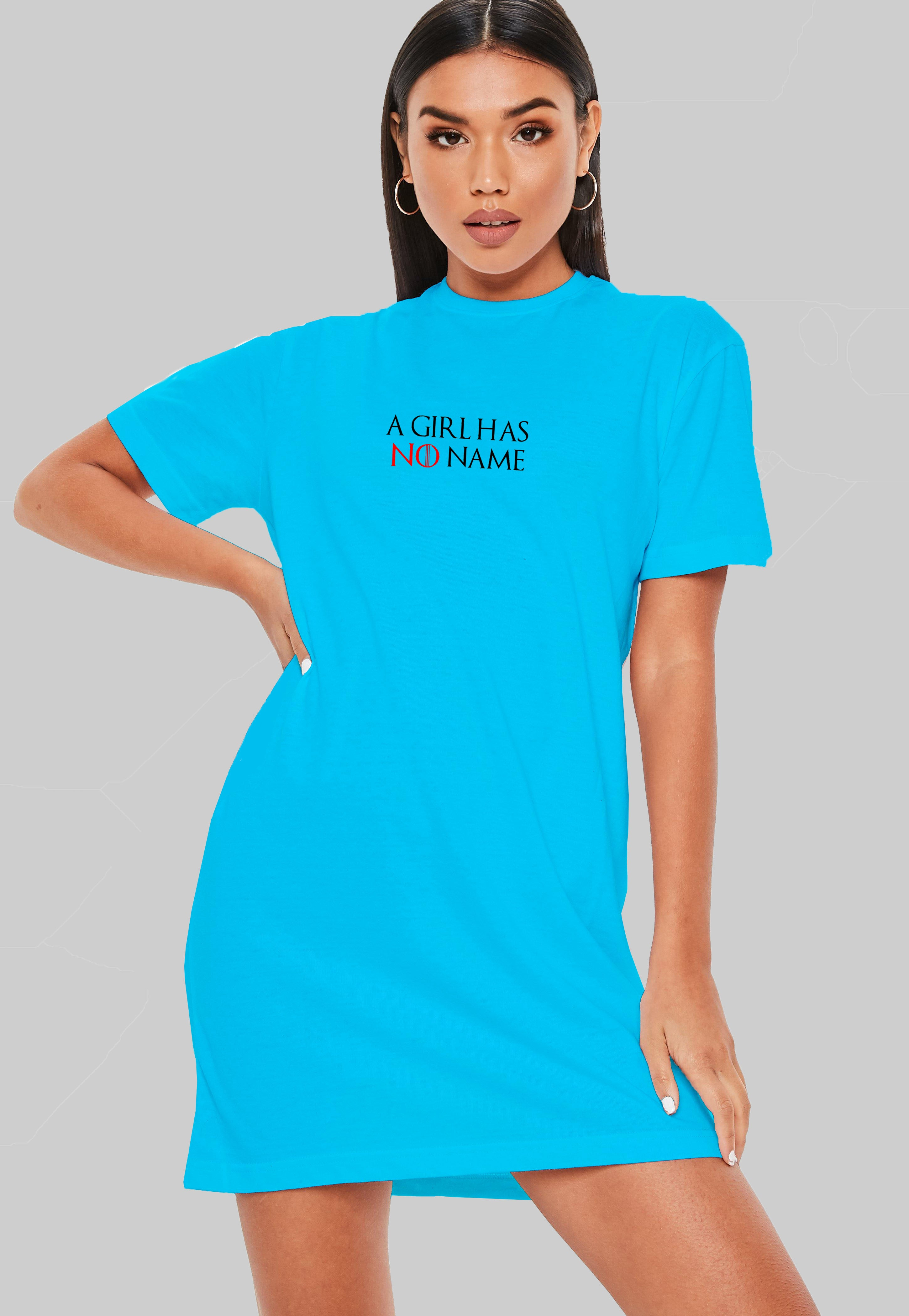 A Girl Has No Name T-Shirt Dress
