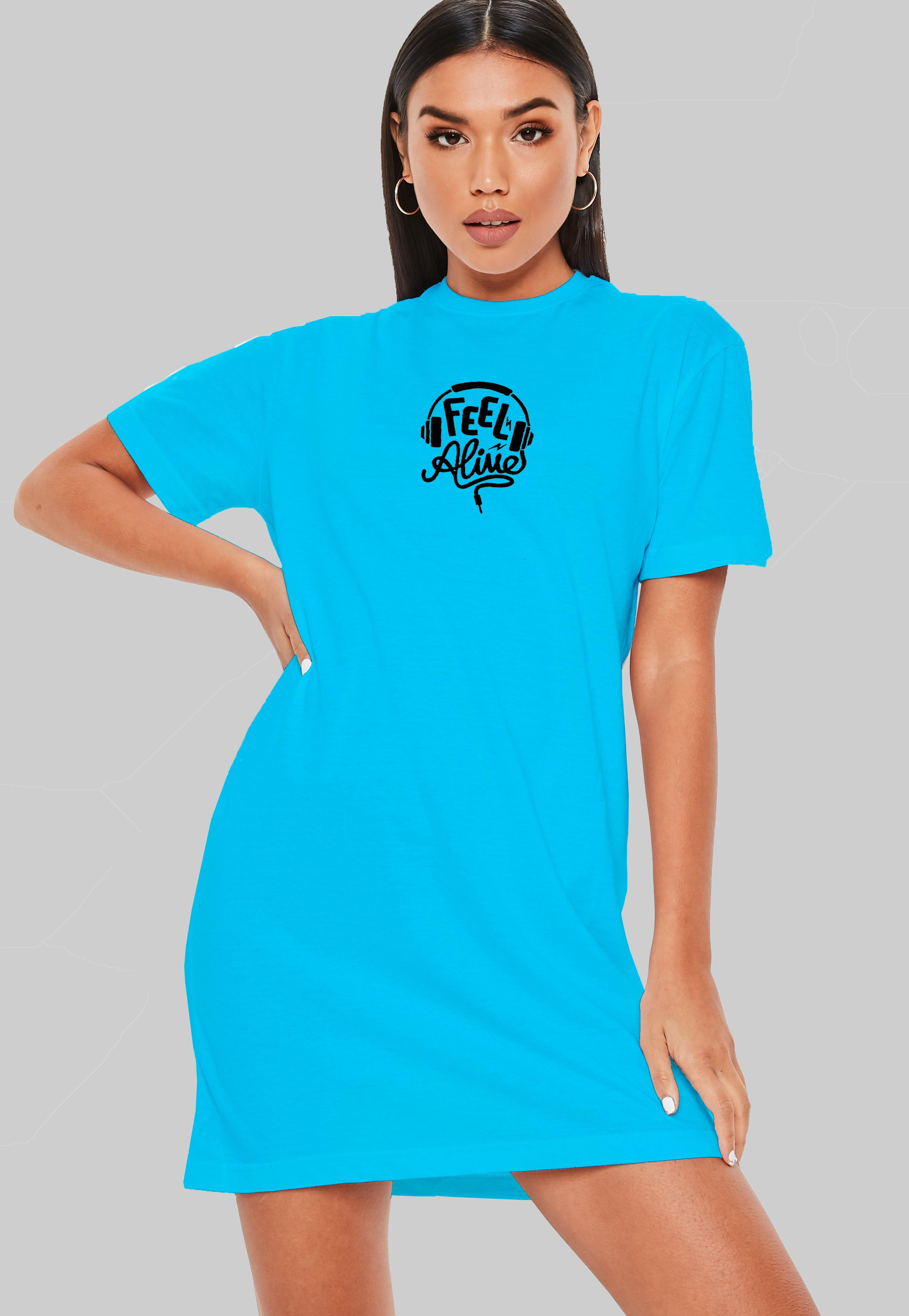Feel Alive T-Shirt Dress