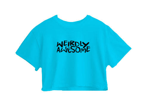 Weirdly Awesome Crop Top