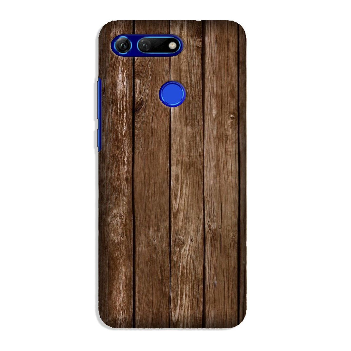 Wooden Look Case for Honor View 20  (Design - 112)