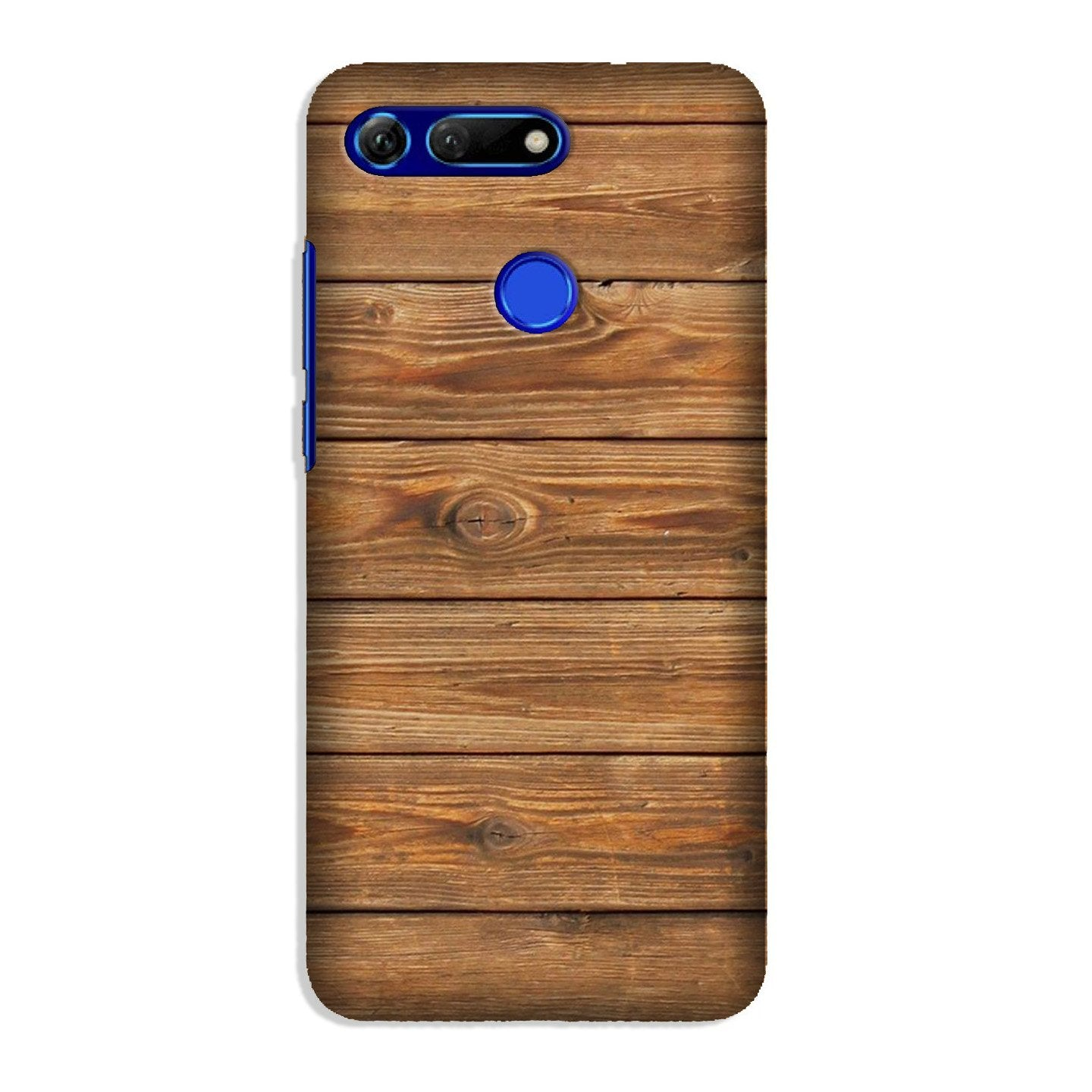 Wooden Look Case for Honor View 20  (Design - 113)
