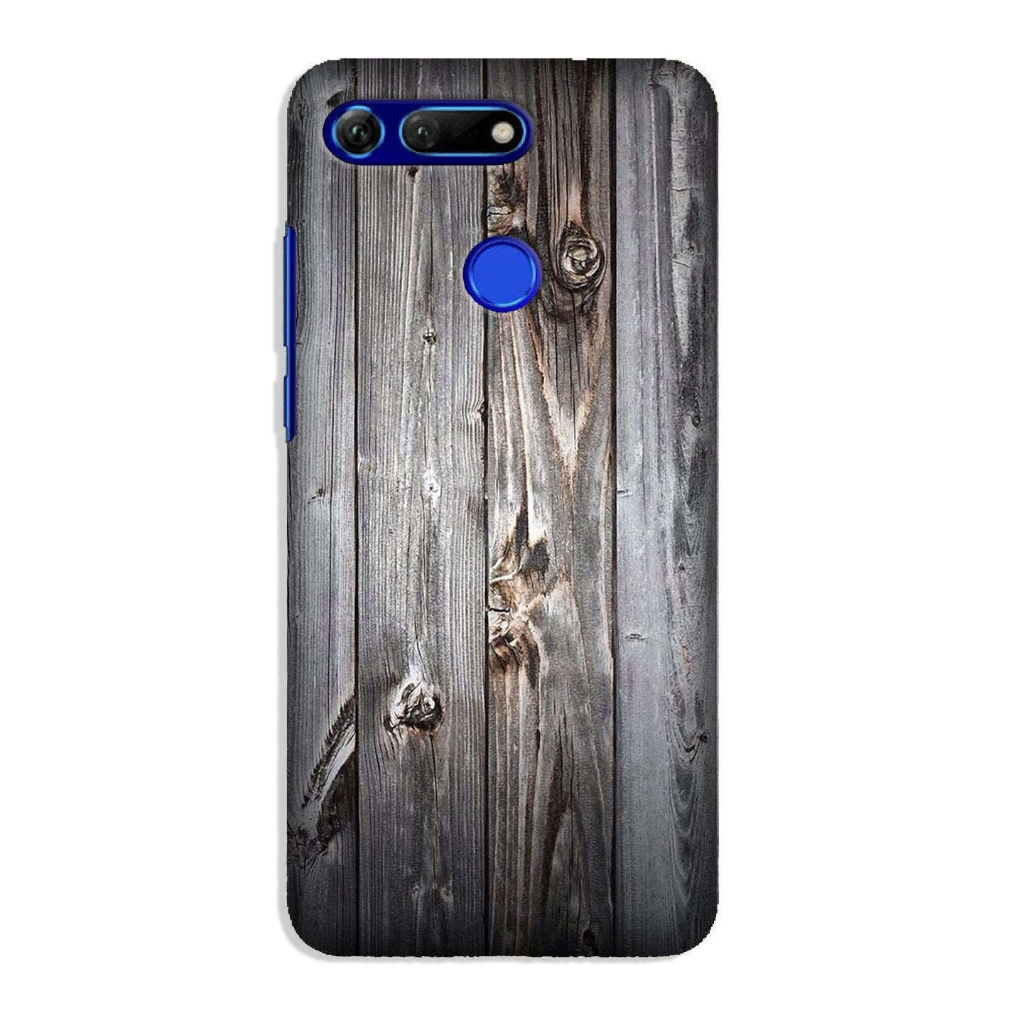 Wooden Look Case for Honor View 20  (Design - 114)