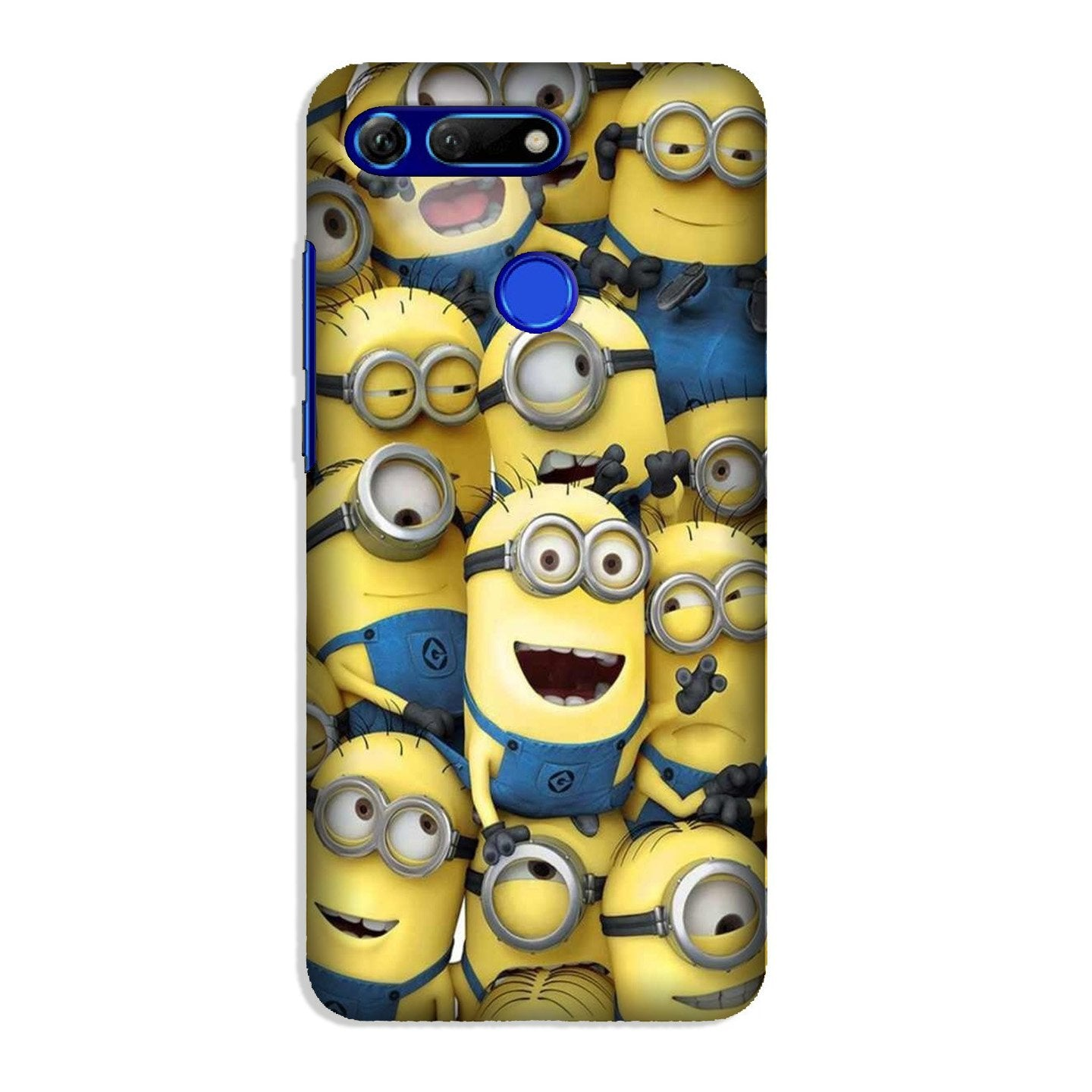 Minions Case for Honor View 20  (Design - 127)