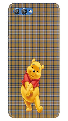 Pooh Mobile Back Case for Honor View 10 (Design - 321)