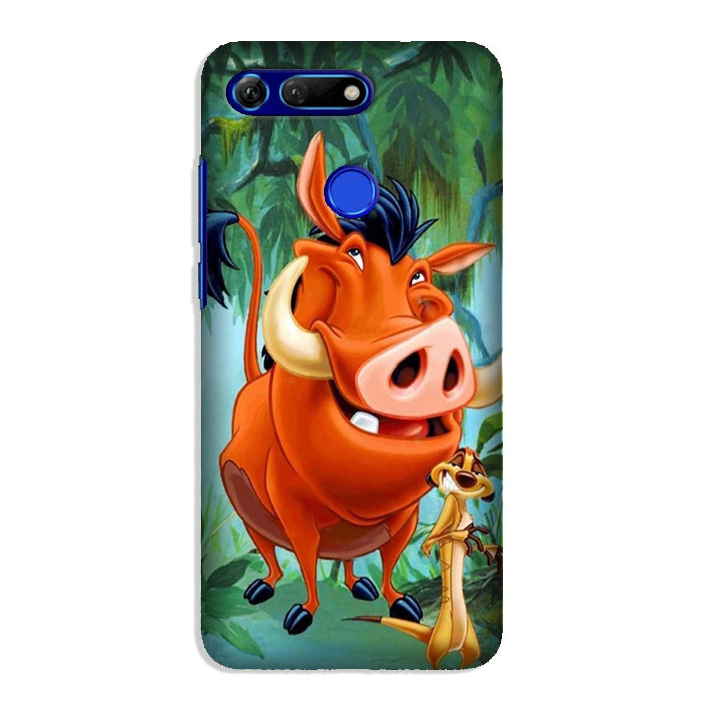 Timon and Pumbaa Mobile Back Case for Honor View 20 (Design - 305)