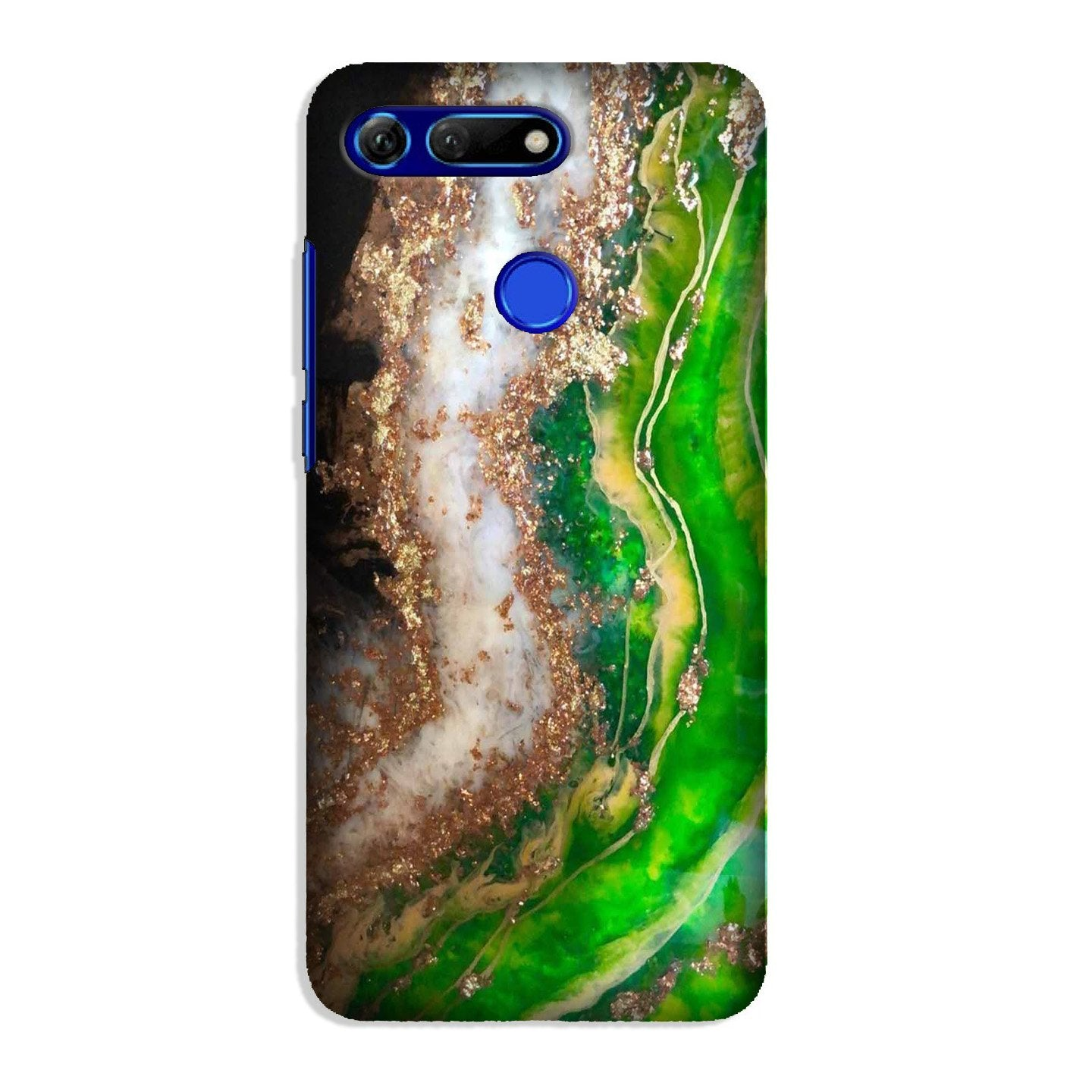 Marble Texture Mobile Back Case for Honor View 20 (Design - 307)