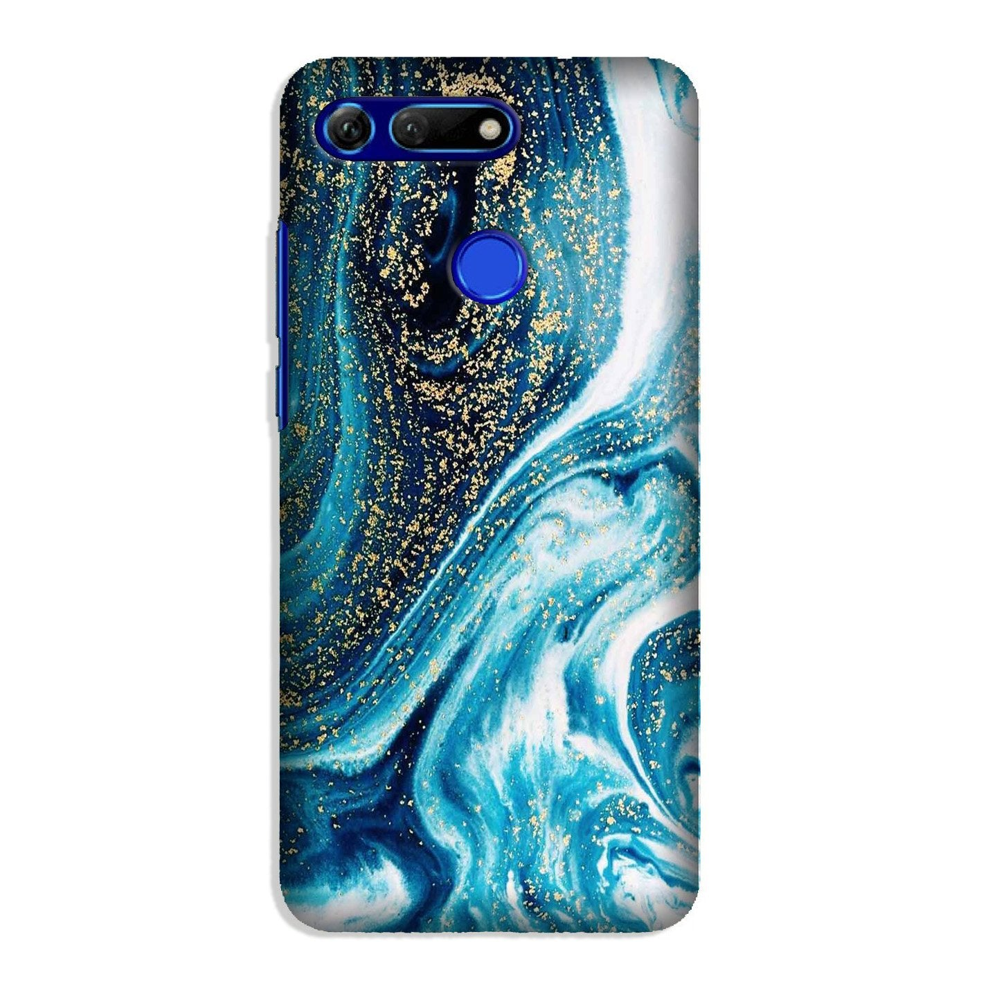 Marble Texture Mobile Back Case for Honor View 20 (Design - 308)