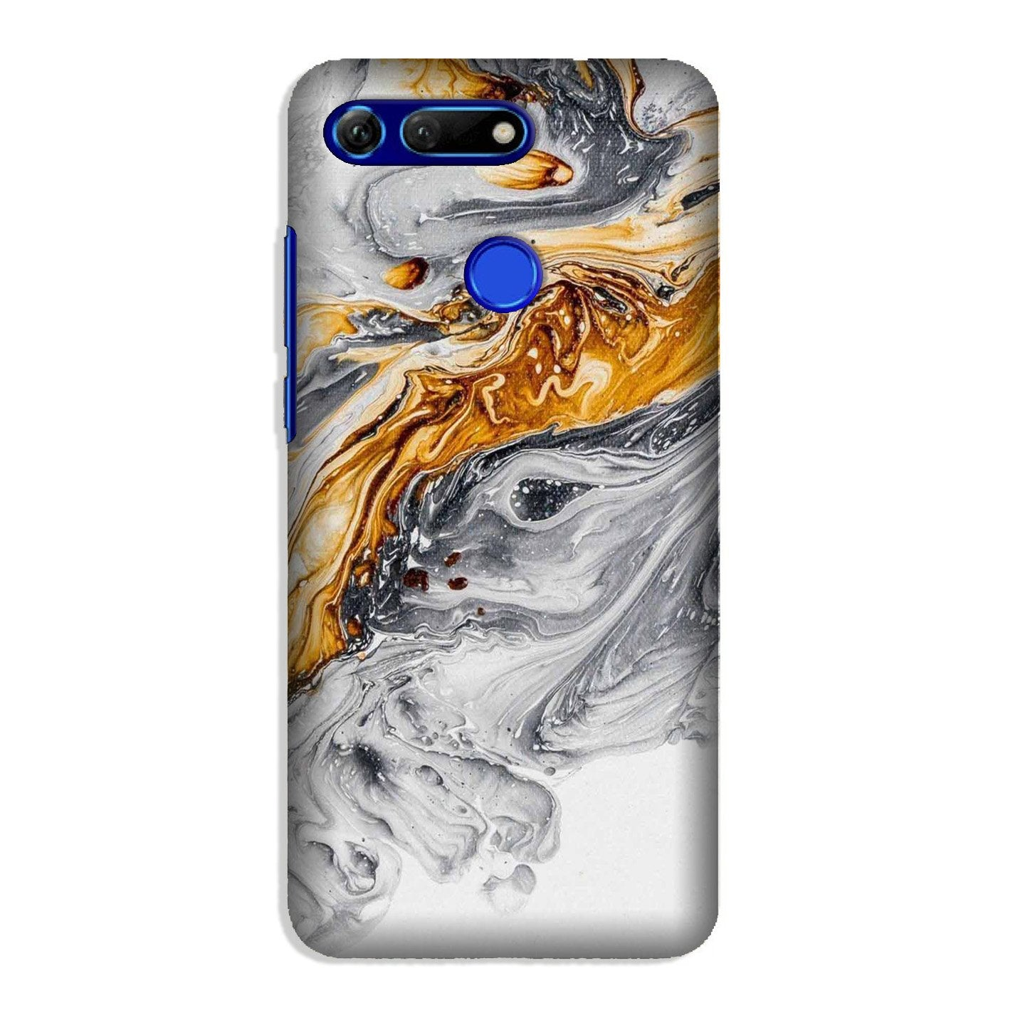 Marble Texture Mobile Back Case for Honor View 20 (Design - 310)