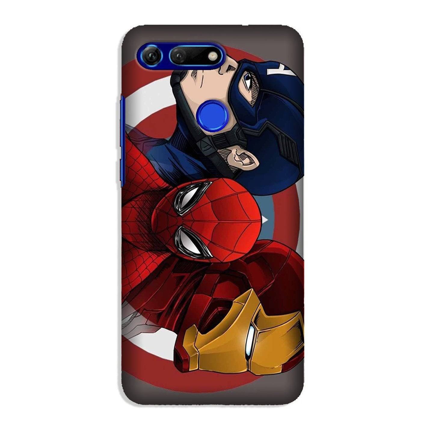 Superhero Mobile Back Case for Honor View 20 (Design - 311)