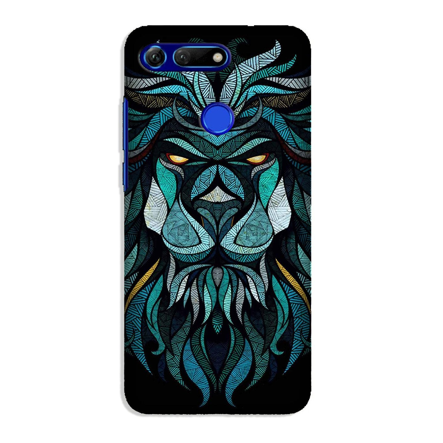 Lion Mobile Back Case for Honor View 20 (Design - 314)