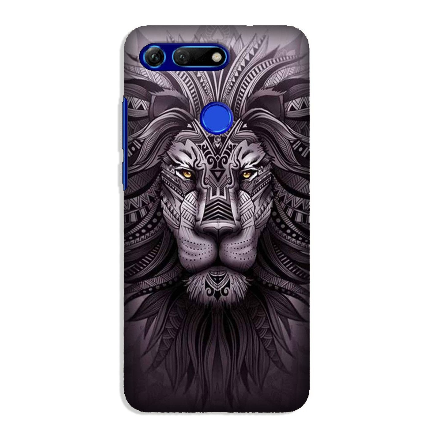 Lion Mobile Back Case for Honor View 20 (Design - 315)