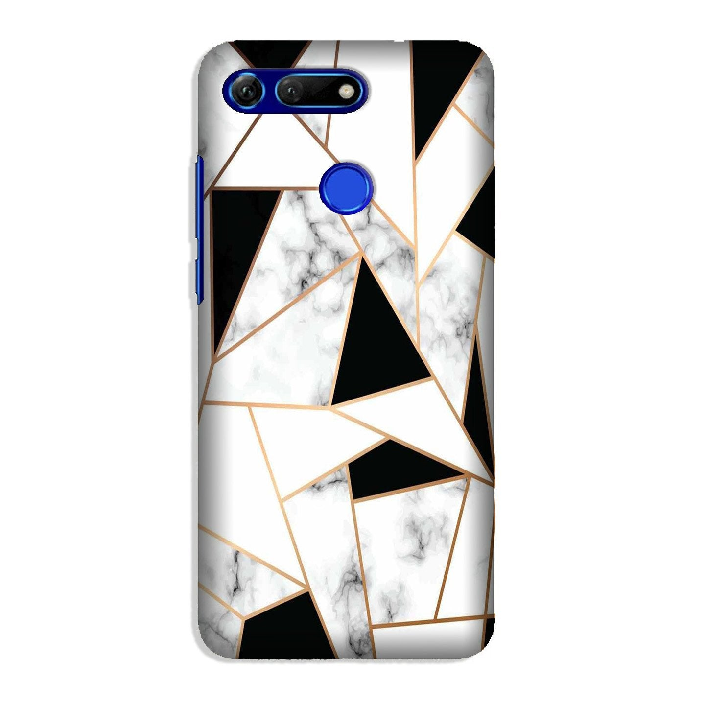 Marble Texture Mobile Back Case for Honor View 20 (Design - 322)