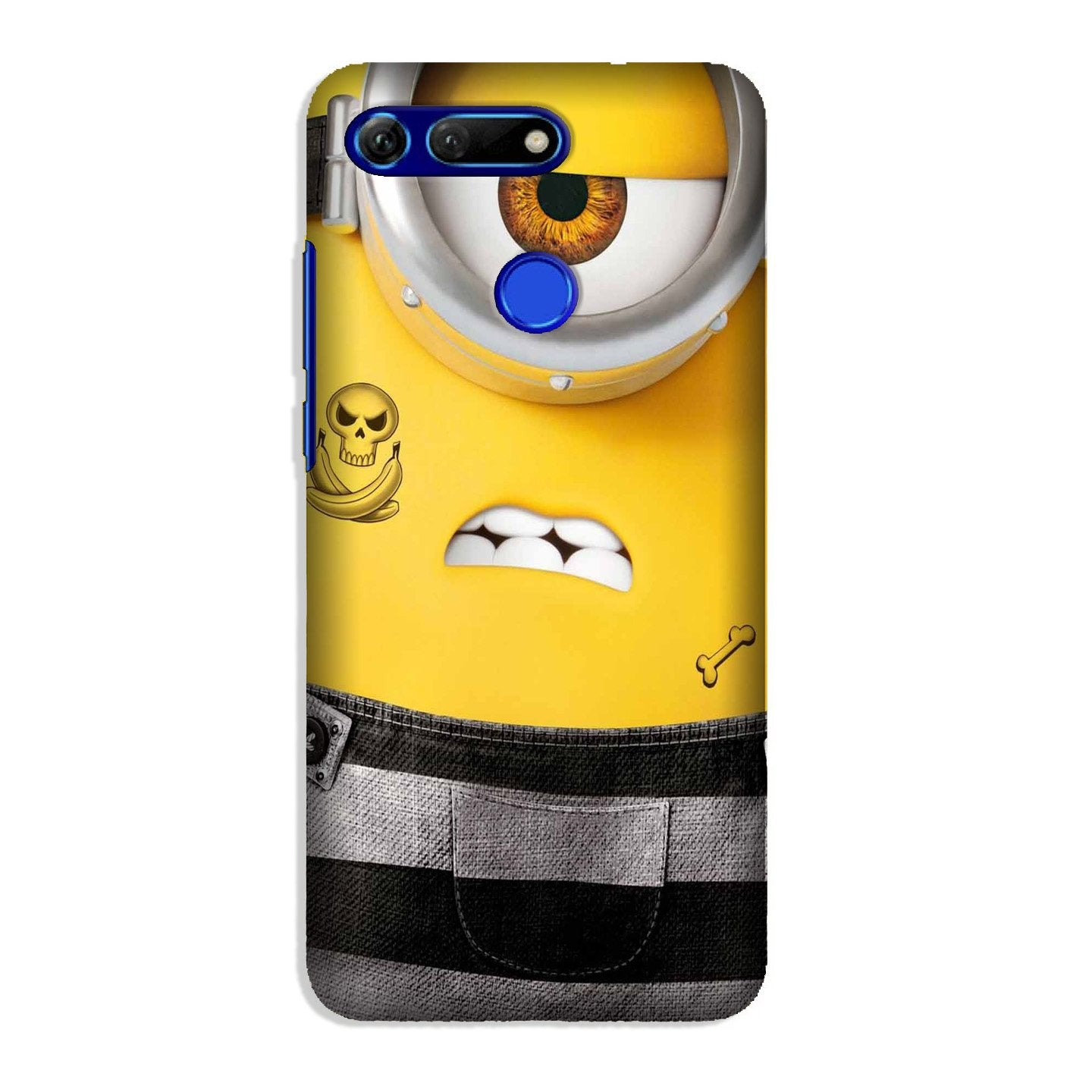 Minion Mobile Back Case for Honor View 20 (Design - 324)