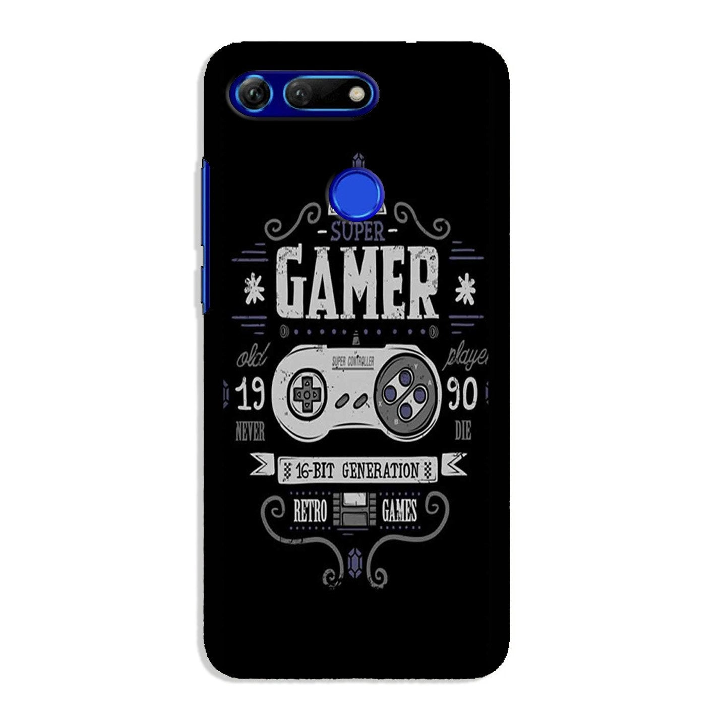Gamer Mobile Back Case for Honor View 20 (Design - 330)