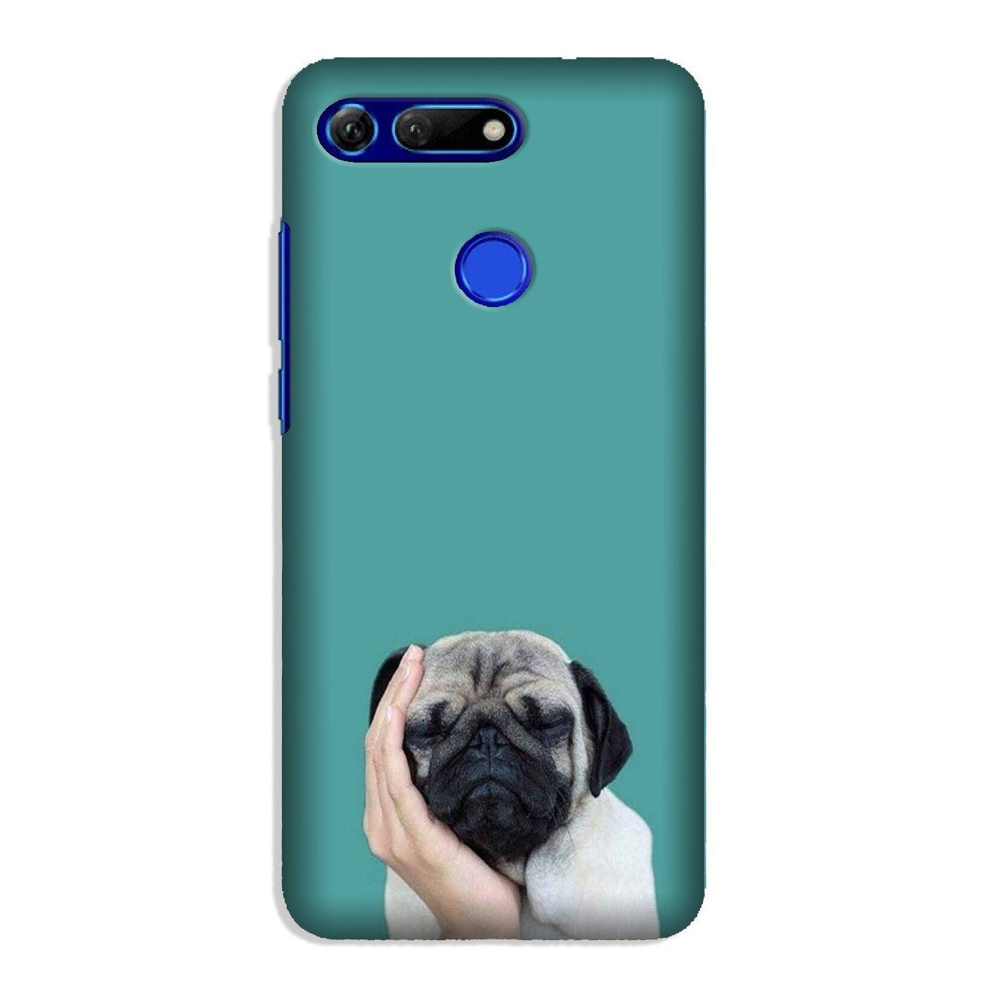Puppy Mobile Back Case for Honor View 20 (Design - 333)