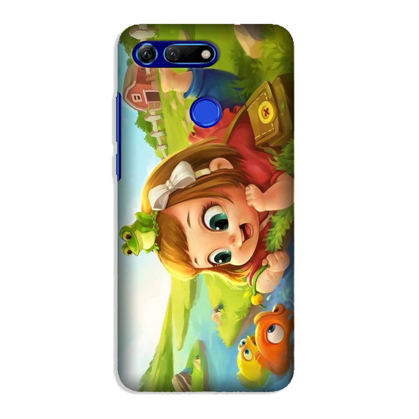 Baby Girl Mobile Back Case for Honor View 20 (Design - 339)
