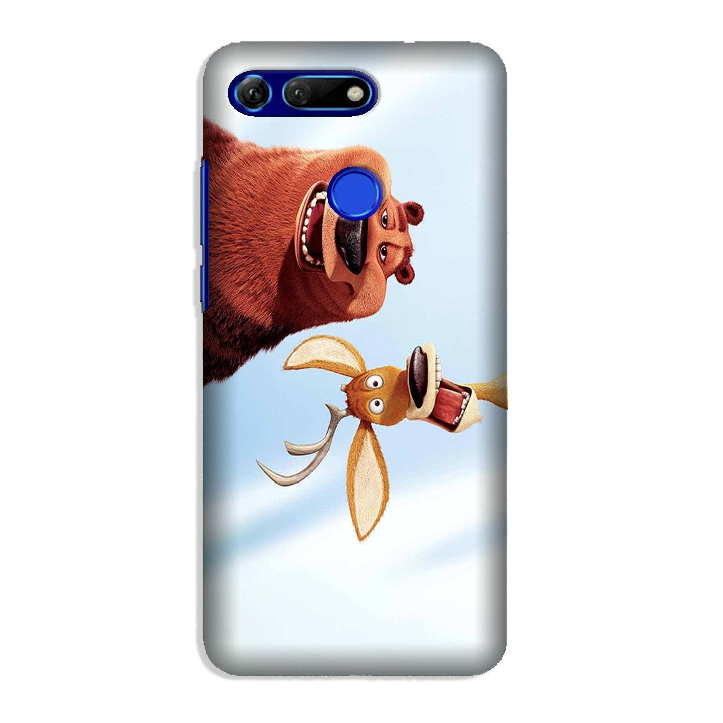 Polar Beer Mobile Back Case for Honor View 20 (Design - 344)