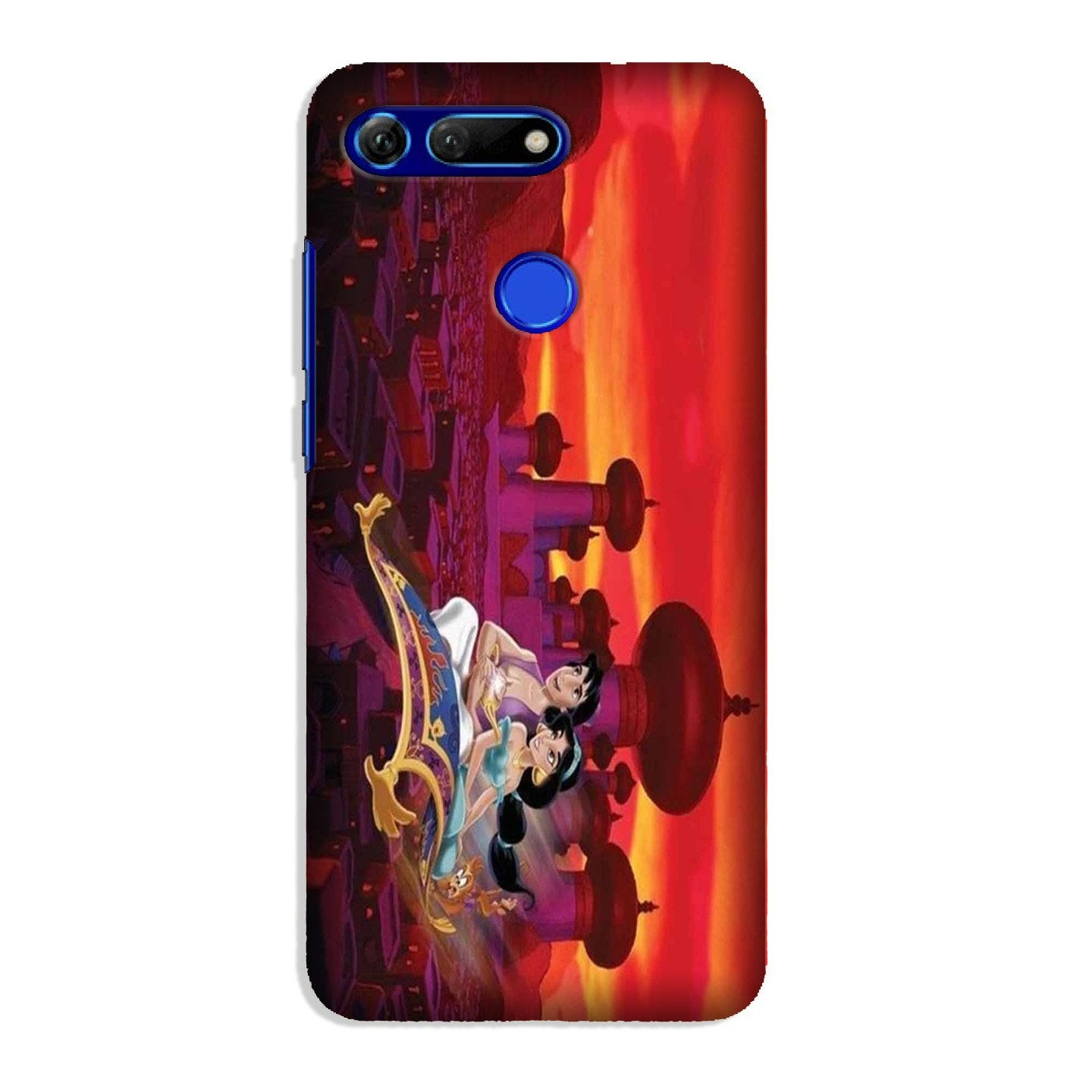 Aladdin Mobile Back Case for Honor View 20 (Design - 345)