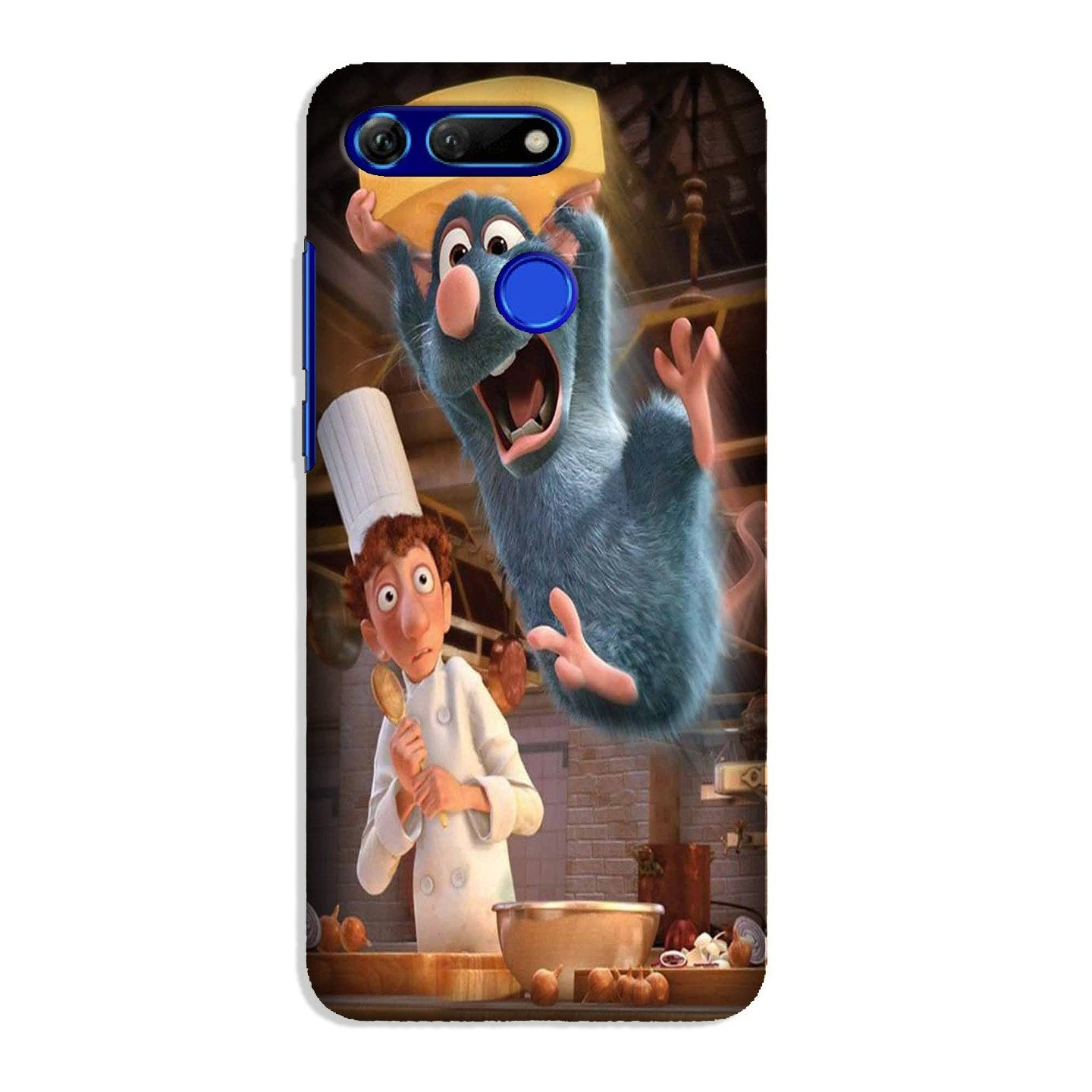 Ratatouille Mobile Back Case for Honor View 20 (Design - 347)