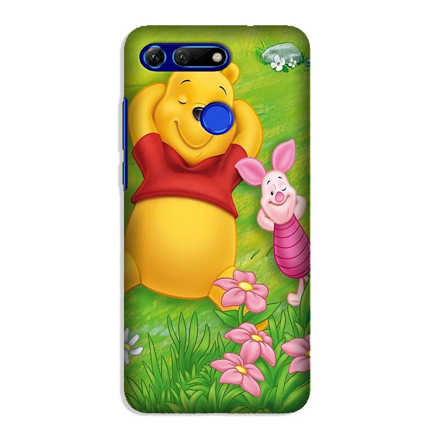 Winnie The Pooh Mobile Back Case for Honor View 20 (Design - 348)