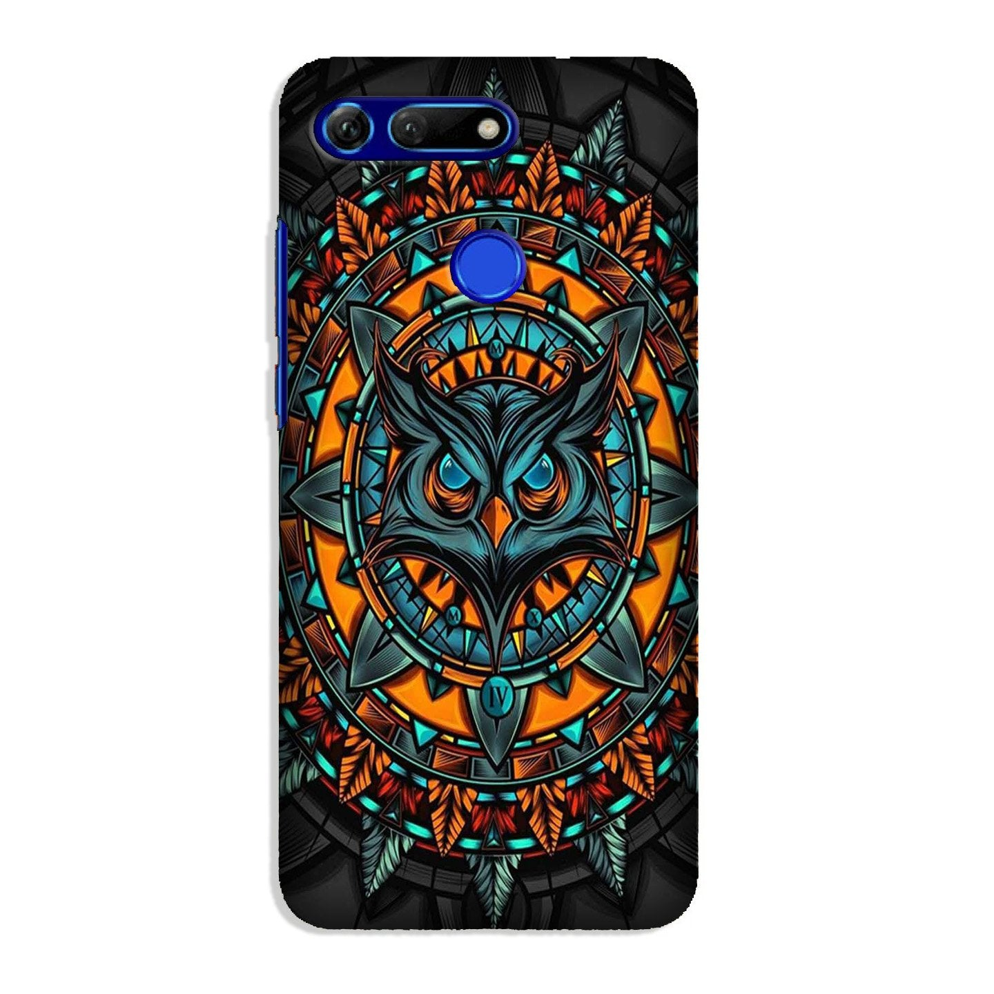 Owl Mobile Back Case for Honor View 20 (Design - 360)