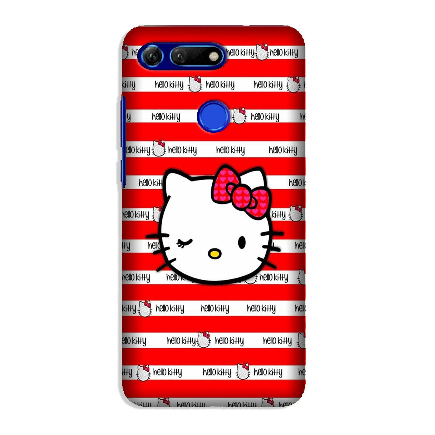 Hello Kitty Mobile Back Case for Honor View 20 (Design - 364)