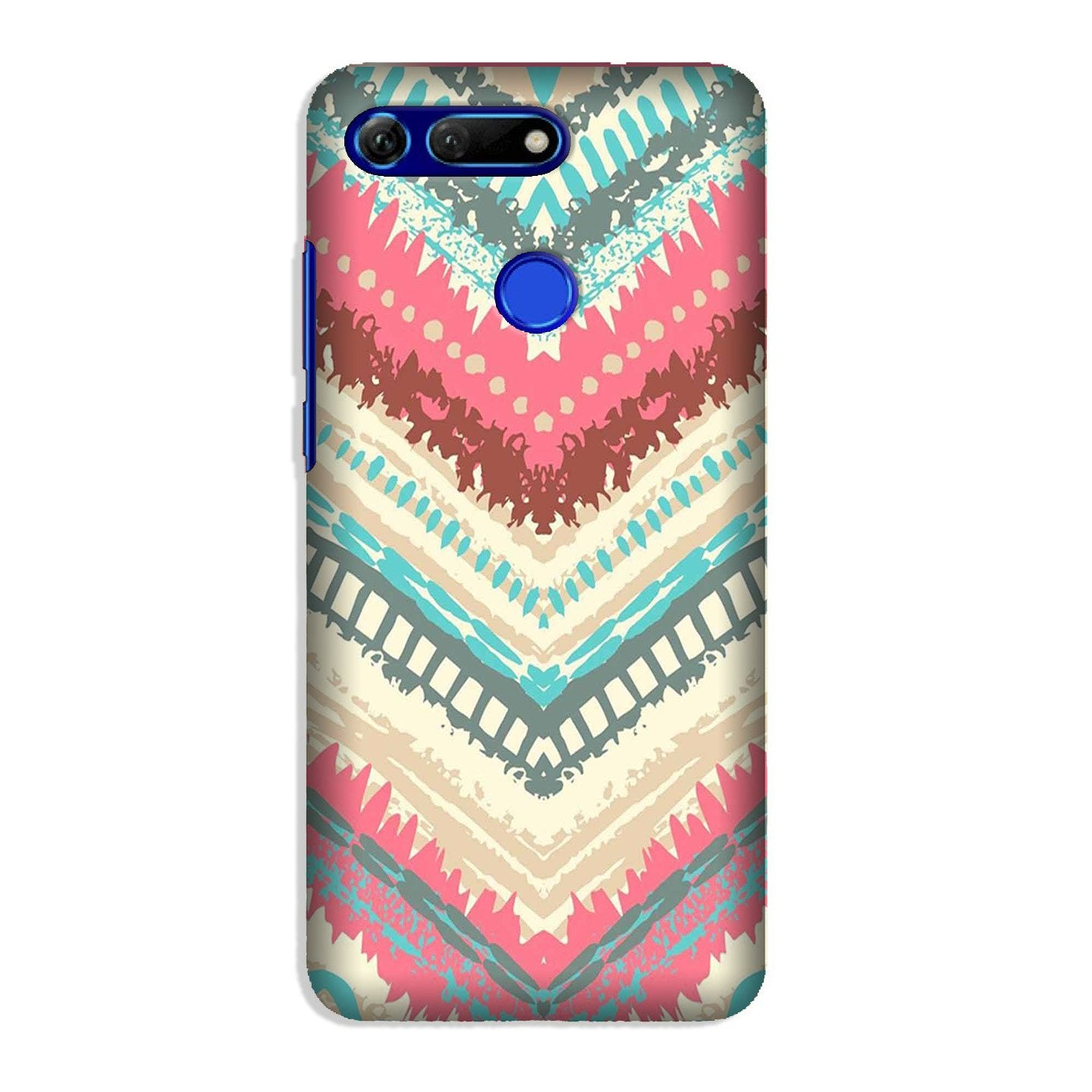 Pattern Mobile Back Case for Honor View 20 (Design - 368)