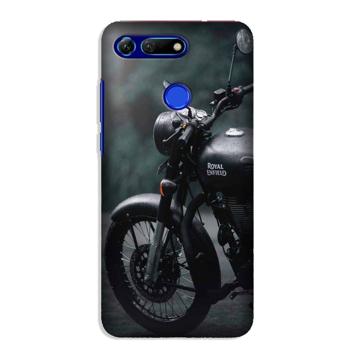 Royal Enfield Mobile Back Case for Honor View 20 (Design - 380)