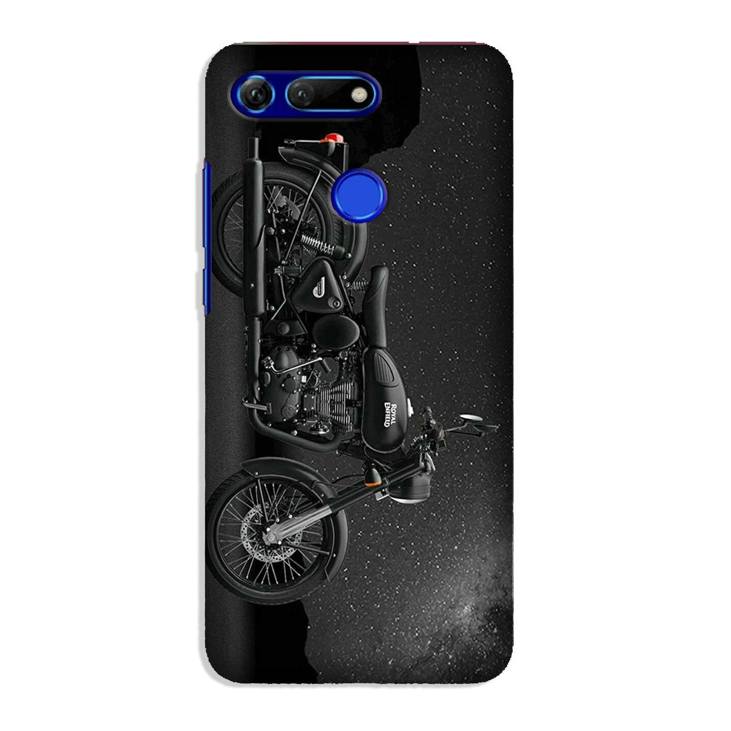 Royal Enfield Mobile Back Case for Honor View 20 (Design - 381)