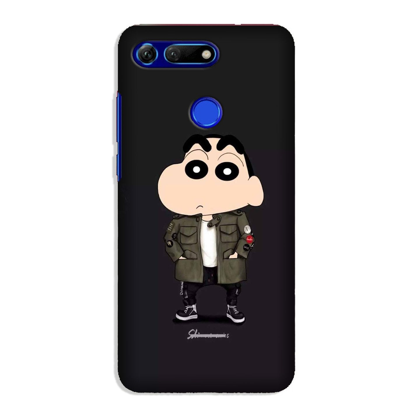 Shin Chan Mobile Back Case for Honor View 20 (Design - 391)