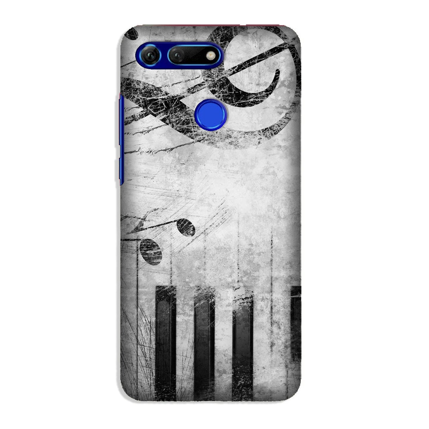 Music Mobile Back Case for Honor View 20 (Design - 394)