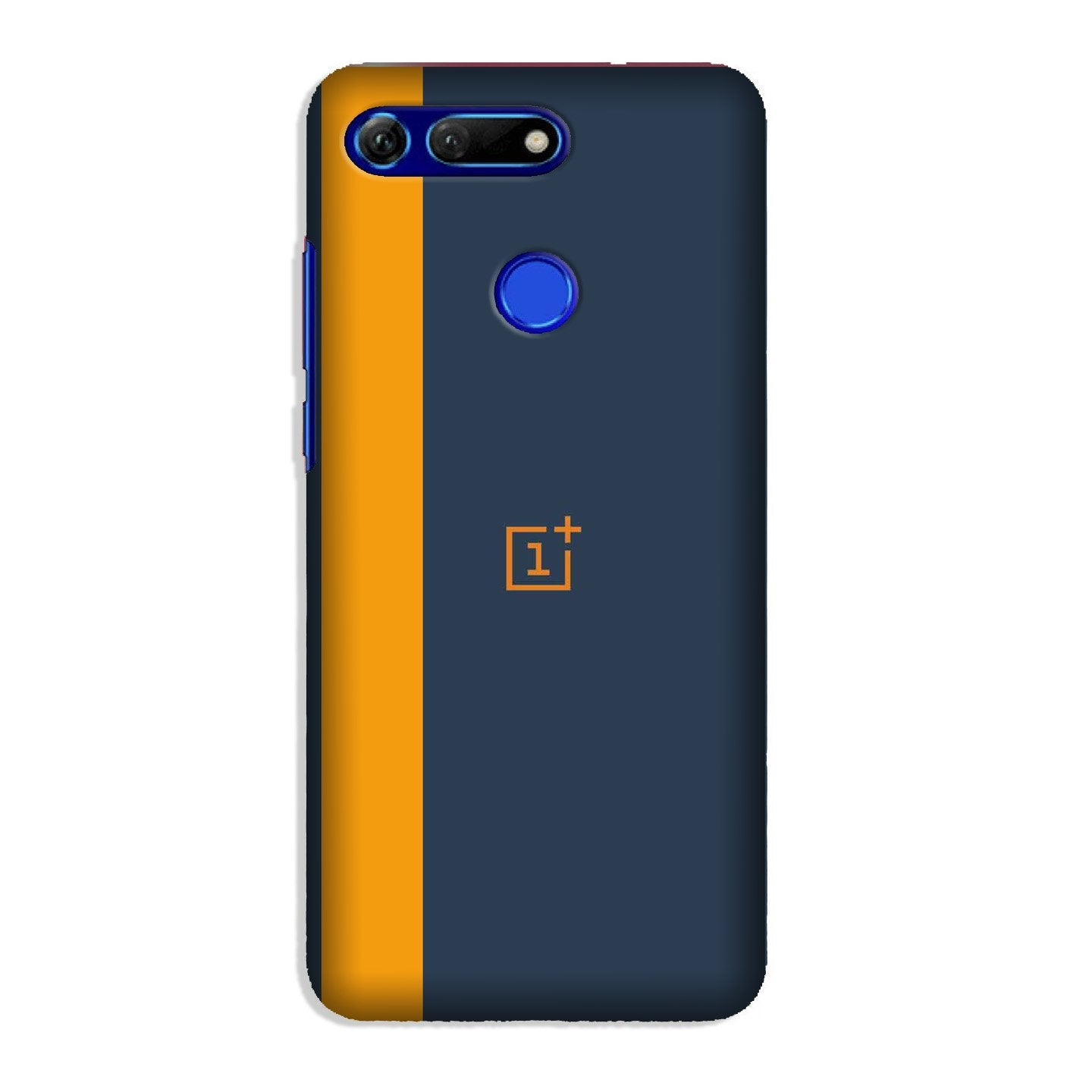 Oneplus Logo Mobile Back Case for Honor View 20 (Design - 395)