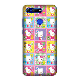 Kitty Mobile Back Case for Honor View 20 (Design - 400)