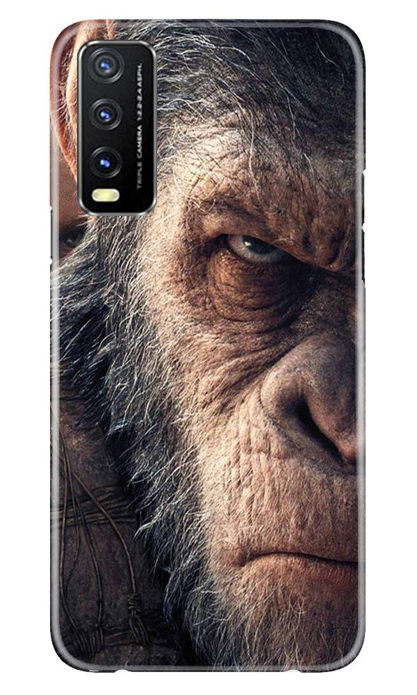 Angry Ape Mobile Back Case for Vivo Y20G (Design - 316)