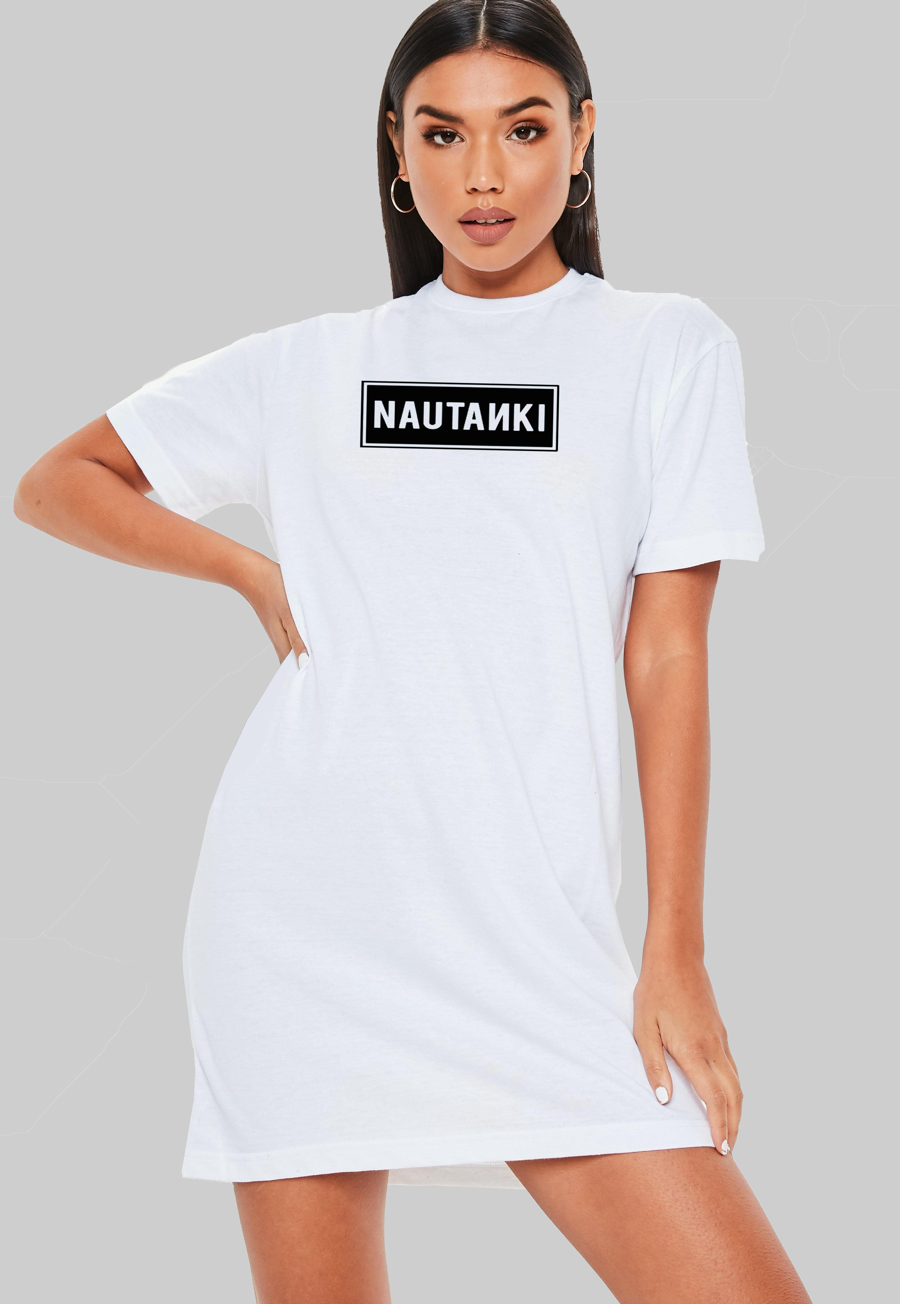 Nautanki T-Shirt Dress