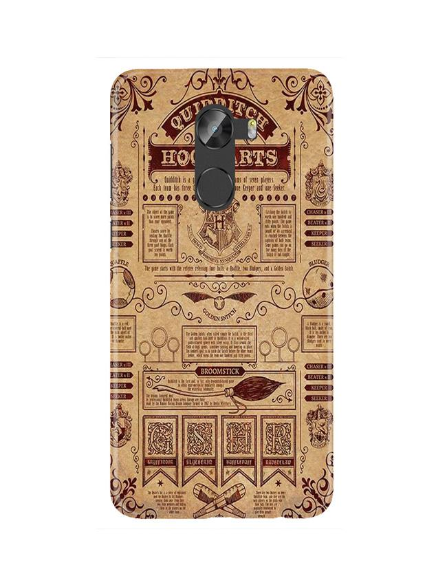 Hogwarts Mobile Back Case for Gionee X1 / X1s (Design - 304)