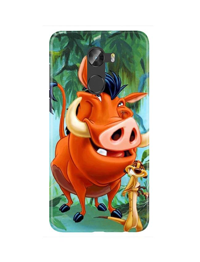 Timon and Pumbaa Mobile Back Case for Gionee X1 / X1s (Design - 305)