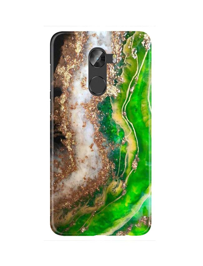 Marble Texture Mobile Back Case for Gionee X1 / X1s (Design - 307)