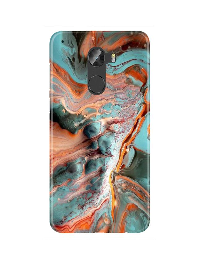 Marble Texture Mobile Back Case for Gionee X1 / X1s (Design - 309)