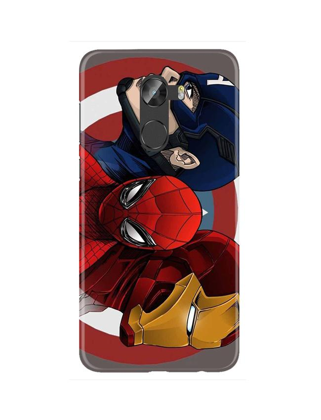 Superhero Mobile Back Case for Gionee X1 / X1s (Design - 311)