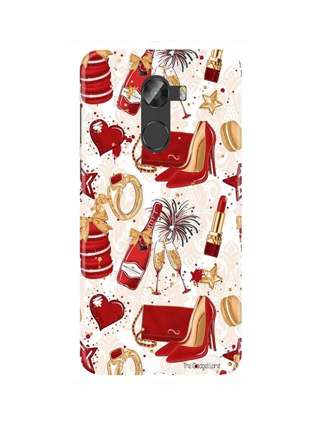 Girlish Mobile Back Case for Gionee X1 / X1s (Design - 312)