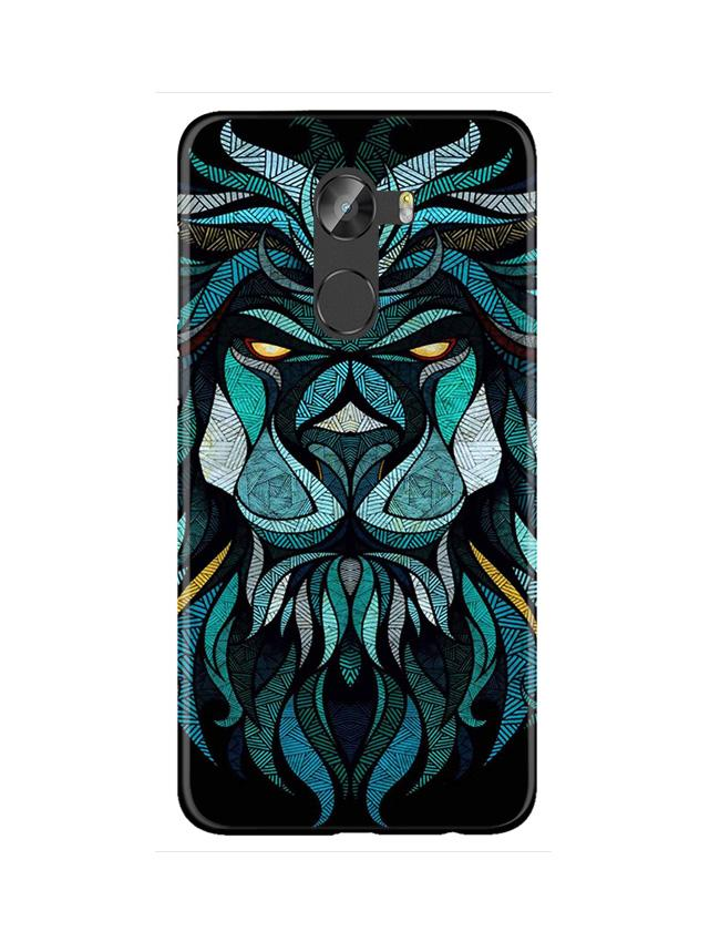 Lion Mobile Back Case for Gionee X1 / X1s (Design - 314)